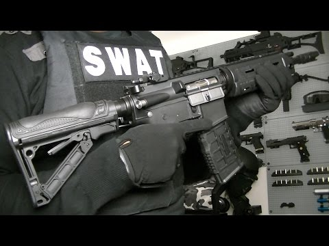 G&G GR4 G26 ADVANCED AEG BLOWBACK AIRSOFT RIFLE Unboxing Review