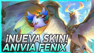 🐦 ¡PROBAMOS LA NUEVA SKIN DE ANIVIA FÉNIX DIVINO! ES PRECIOSA 🐦 Divine Phoenix Anivia Gameplay