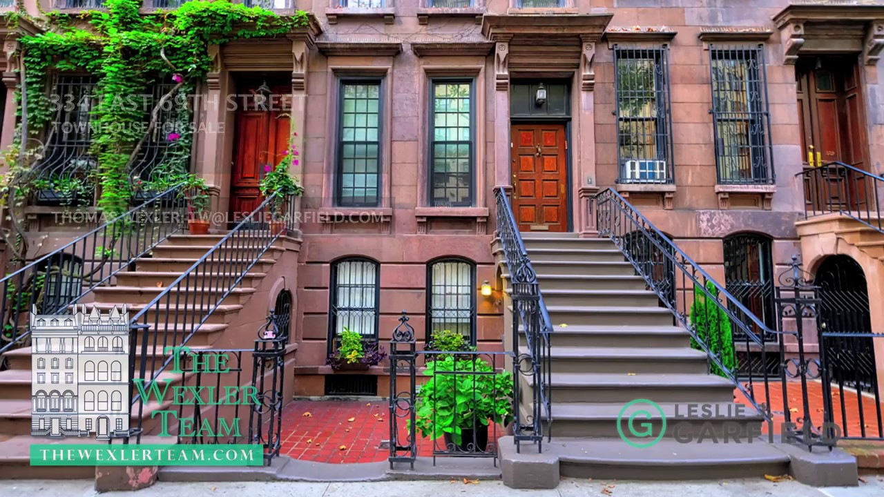 Nyc townhouse at 334 east 69th street manhattan for sale for Townhouses for sale in manhattan ny