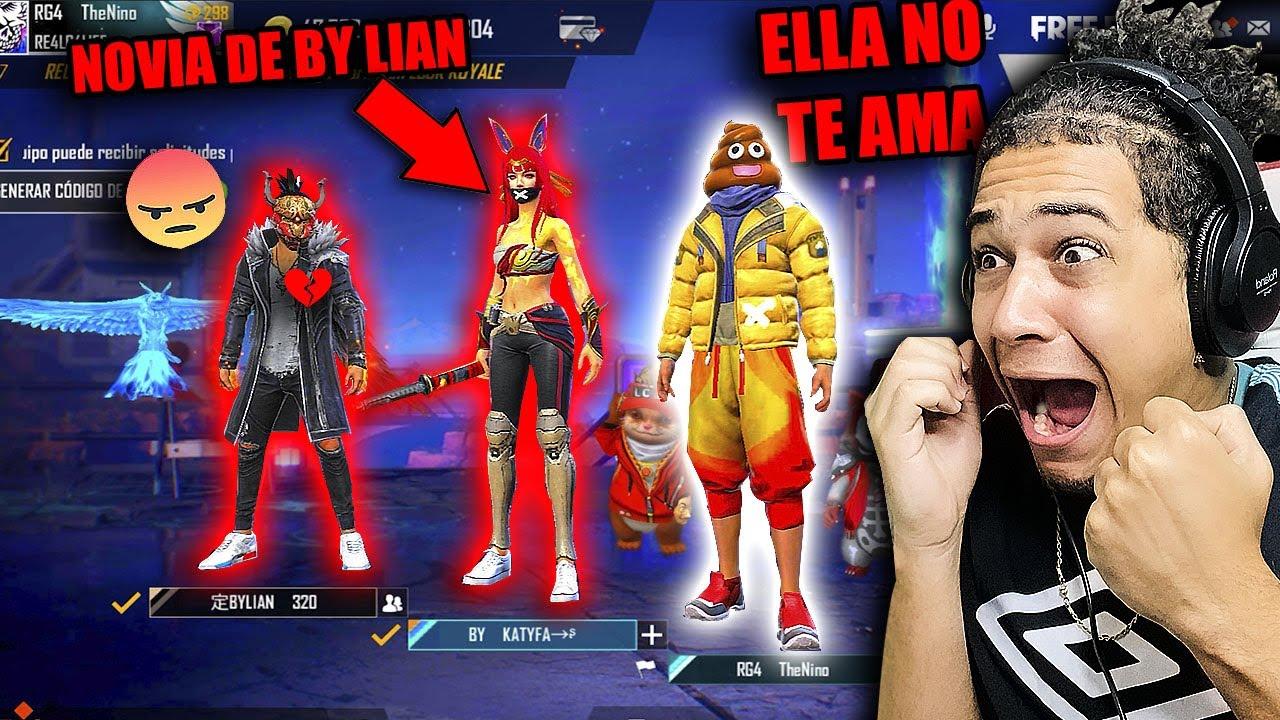 Download ENTRO A ESCUADRAS RANDOM Y ME LIGO LA NOVIA DE ESTE *YOUTUBER* NOS DESCUBRE!! 😰 FREE FIRE