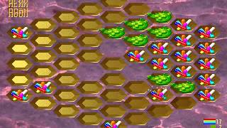 Hexxagon 2 Gameplay