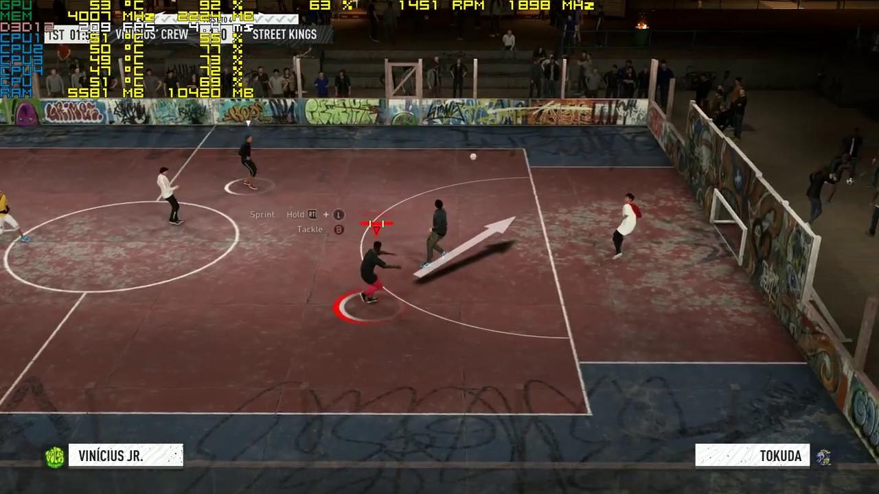 FIFA 20 VOLTA GTX 1060 ULTRA SETTINGS 1080P 60 FPS - YouTube