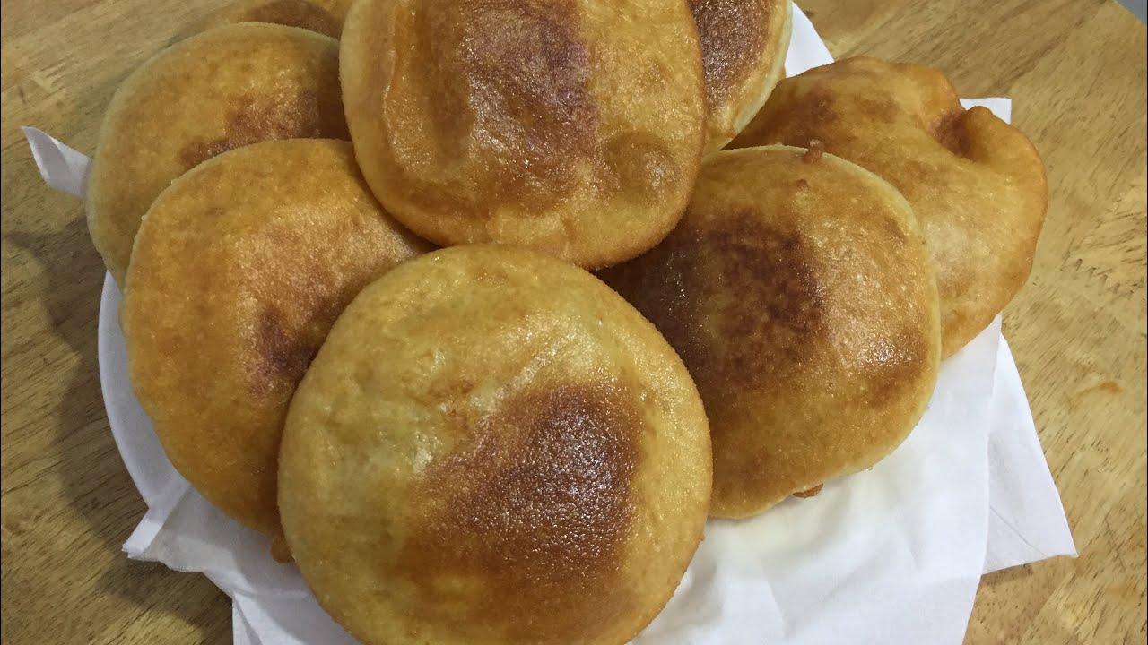 Bột mì chiên trứng sữa ngon bổ dưỡng/ cách làm bánh rán ngon/ Bếp Yên Bình.
