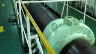 Shaft of Main Engine of Container ship
