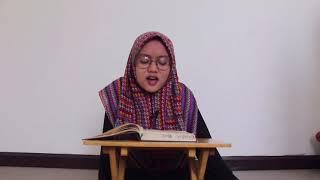 Musabaqah Tilawatil Qur\x27an Pelajar Tingkat Nasional UNJ - Nafisah Almais Aidiyah (Ali-Imran : 144)