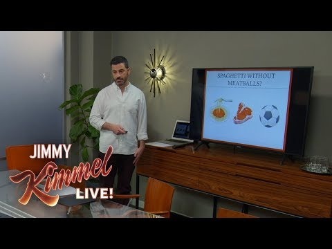 Jimmy Kimmel's Passionate Plea for a Meatball Emoji