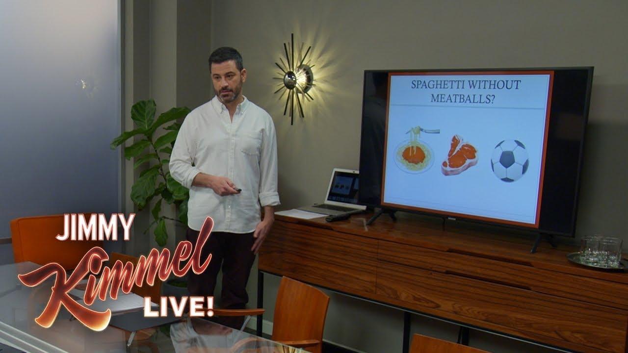 Jimmy Kimmel's Passionate Plea for a Meatball Emoji