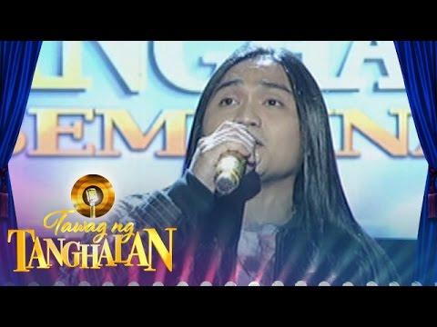 Tawag Ng Tanghalan: Christofer Mendrez   Glory Of Love (Quarter 2 Semifinals)