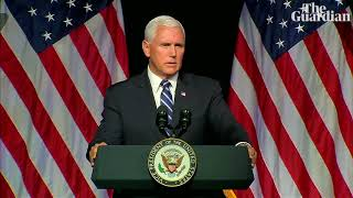 Mike Pence launches plans for Space Force as new military service