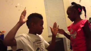 Me and my cuz slap contest