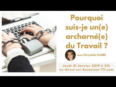 [BANDE ANNONCE] Pourquoi suis-je un acharné du travail ? avec Chrystelle CLAIRE le 31/01/2019 à 21h