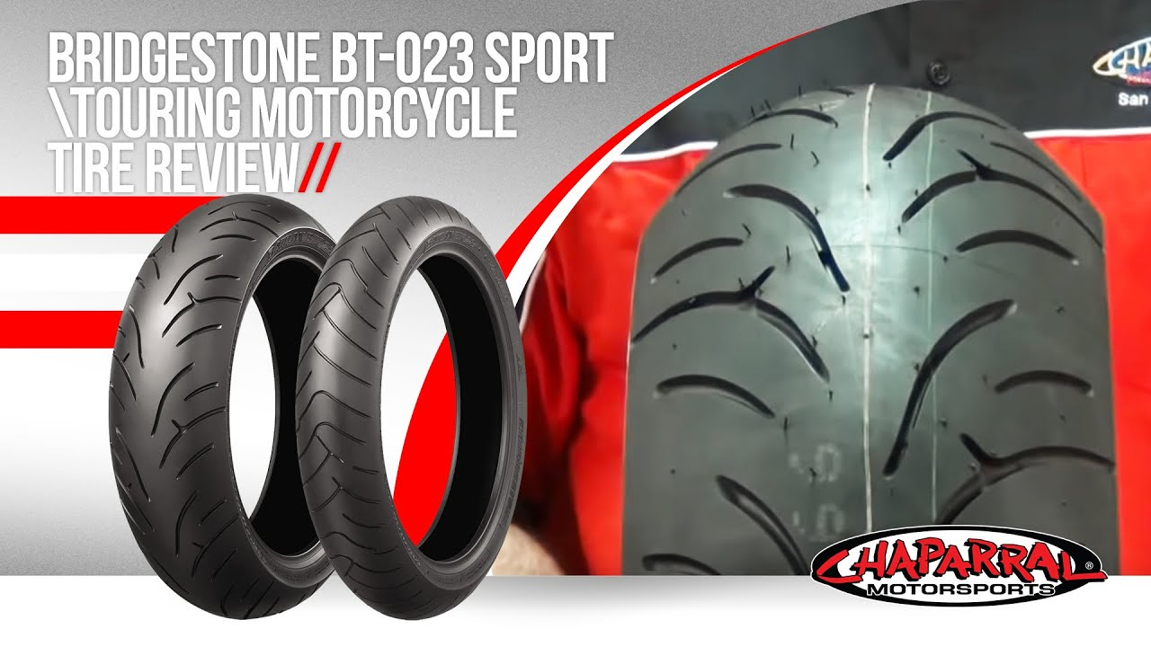 Bt 023 Sport Touring Motorcycle Tire