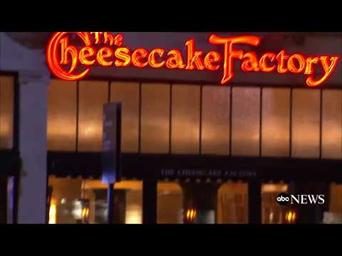 Man Throws Bomb into Cheesecake Factory | ABC News