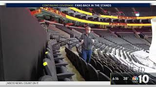Wells Fargo Center Ready to Welcome Back Fans This Weekend | NBC10 Philadelphia