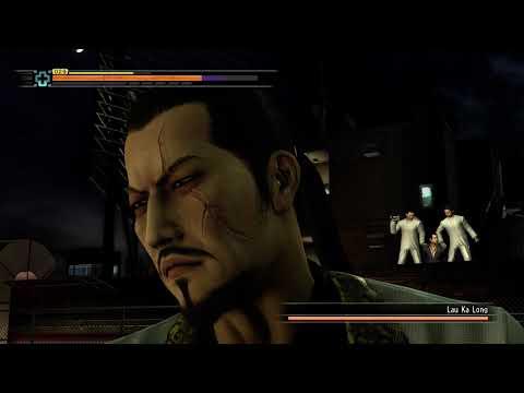 Yakuza 3 Remastered Kiryu vs Lau Ka Long Boss fight(HARD) pc max ultra settings 60fps full hd |