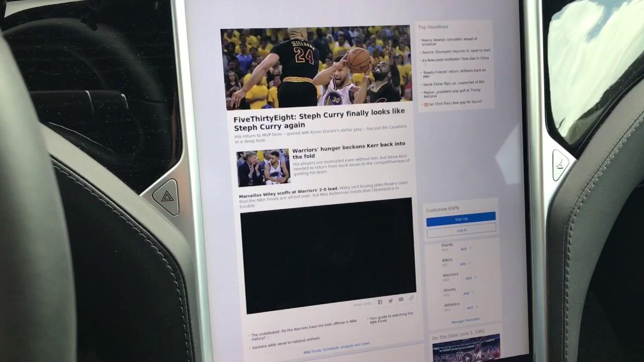 Why Nobody Uses Tesla's Web Browser - YouTube