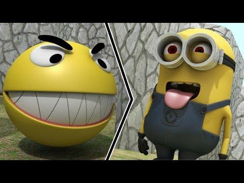 pacman-vs-minions