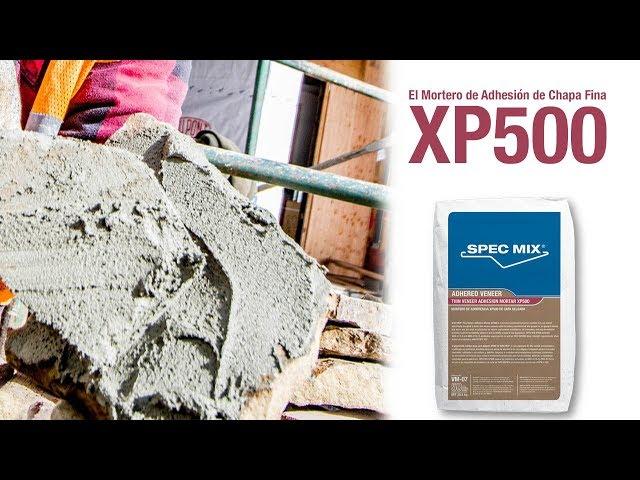 El Mortero de Adhesion de Chapa Fina SPEC MIX - XP500