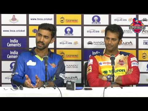 Dinesh Karthik and R.Sathish talk about the finals