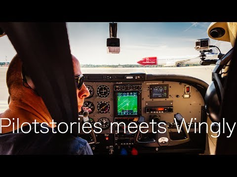Pilotstories on Television - A Wingly Flight from Düsseldorf to Maastricht!