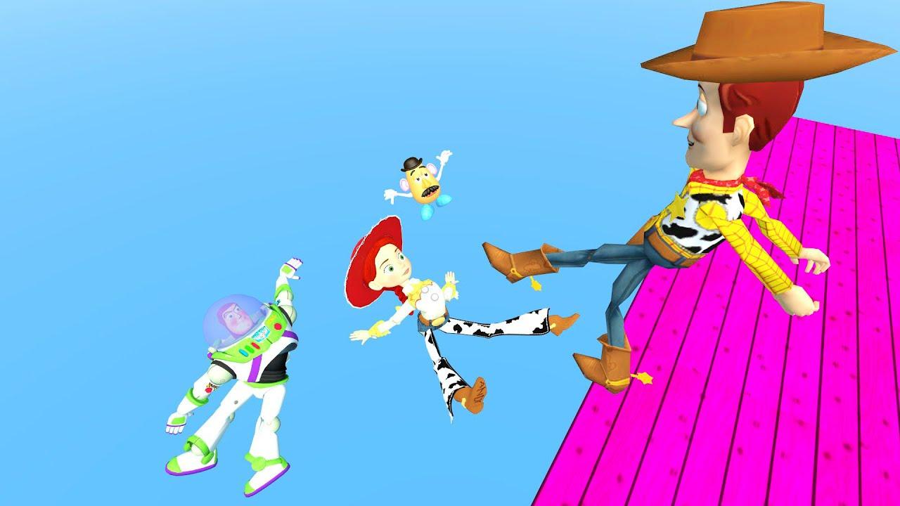 Gmod Ragdolls [Woody, Buzz, Jessie, Mr.Potato Head from Toy Story] vol.21