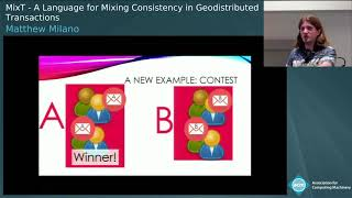 MixT: A Language for Mixing Consistency in Geodistributed Transactions