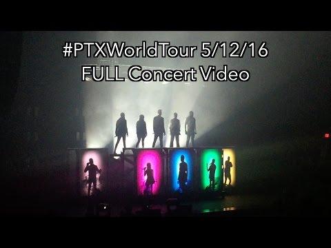 Pentatonix #PTXWorldTour FULL 1080p 60FPS Concert (5/12/16)