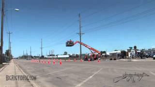 "Ringtone - Peterbilt ""Hot Iron"" (Bull-It-Angus) Jake Braking at the Wheel Jam Truck Show"