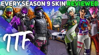 Every Season 9 Skin REVIEWED! (Fortnite Battle Royale)