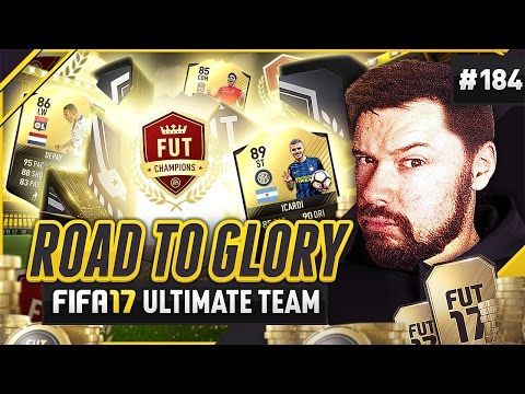 WE PACK A LEGEND! #FUTChamps Rewards! - #FIFA17 Road to Glory! #184 ultimate team