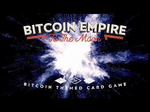 Bitcoin Empire: To The Moon - Card Game Promo