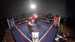 Ultra White Collar Boxing | Lincoln | Ben Smith VS Nick Wooster