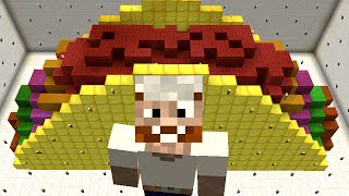 Minecraft Vs Zombies  MEGA GOLDEN TACO  PvZ  Land