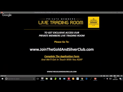 Live Commodity Analysis with The Gold & Silver Club for April 20