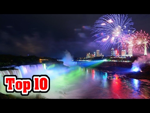 TOP 10 BEST CHRISTMAS LIGHT DISPLAYS EVERY!!