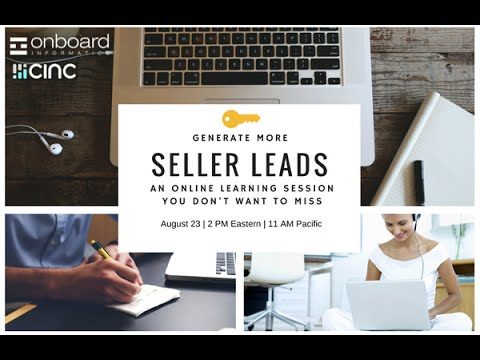 A Better Way to Capture Seller Leads from Onboard Informatics and Commissions Inc