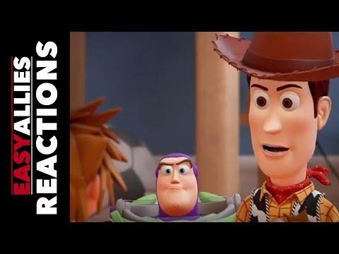 Kingdom Hearts III - D23 Reveal - Easy Allies Reactions