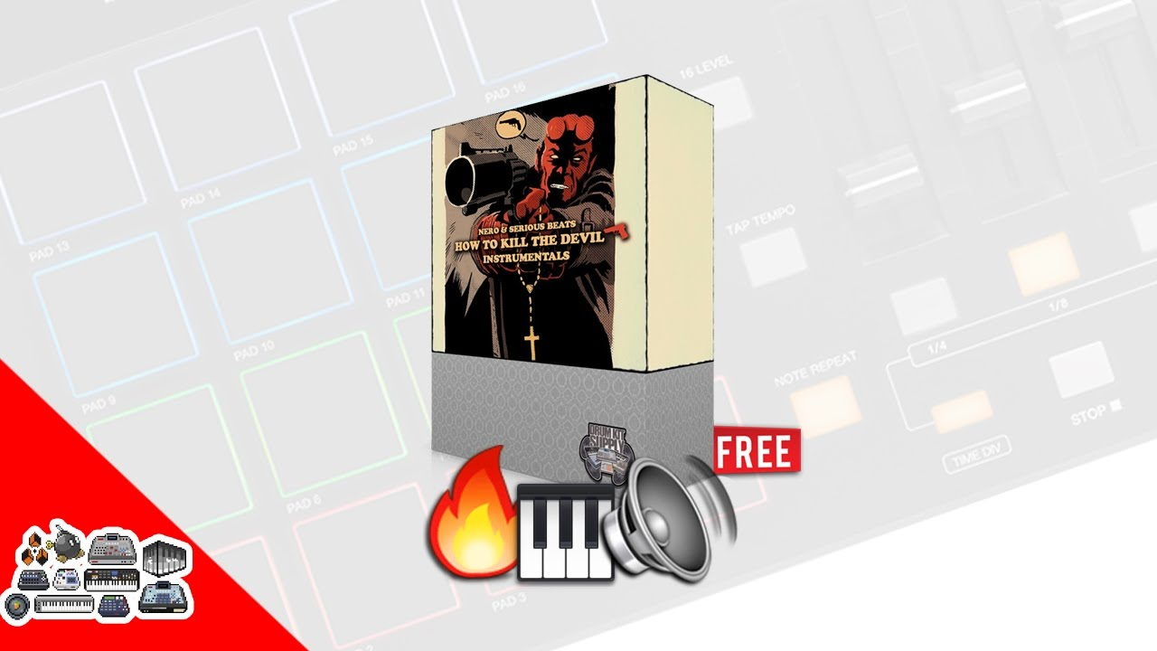 FREE Drum Kit & Sample Pack - How To Kill Devil DrumKit [DrumKitSupply] FL Studio | Ableton | Cu