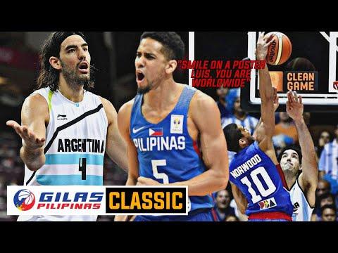 Throwback // Gilas Pilipinas vs Argentina Full Game Highlights / 2014 FIBA World Cup / Spain 2014