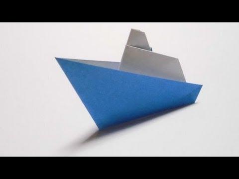 簡単 折り紙 折り紙 ヨット 折り方 : youtube.com