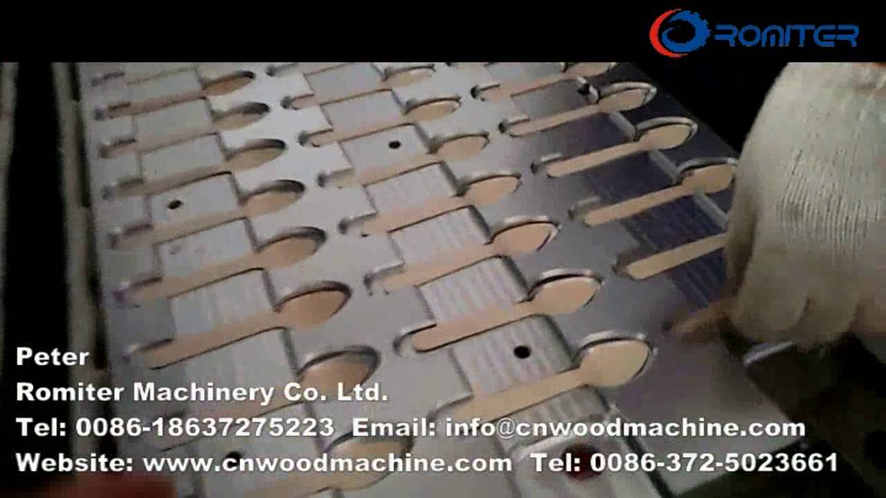 Disposable Wooden Spoon Making Machine