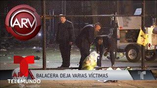 Violento tiroteo en una fiesta de Nueva York deja un muerto y 11 heridos | Al Rojo Vivo | Telemundo