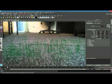 [TUTORIAL] 3D Model into Video with MOVING CAMERA (with Matchmover, Maya, After Effects)