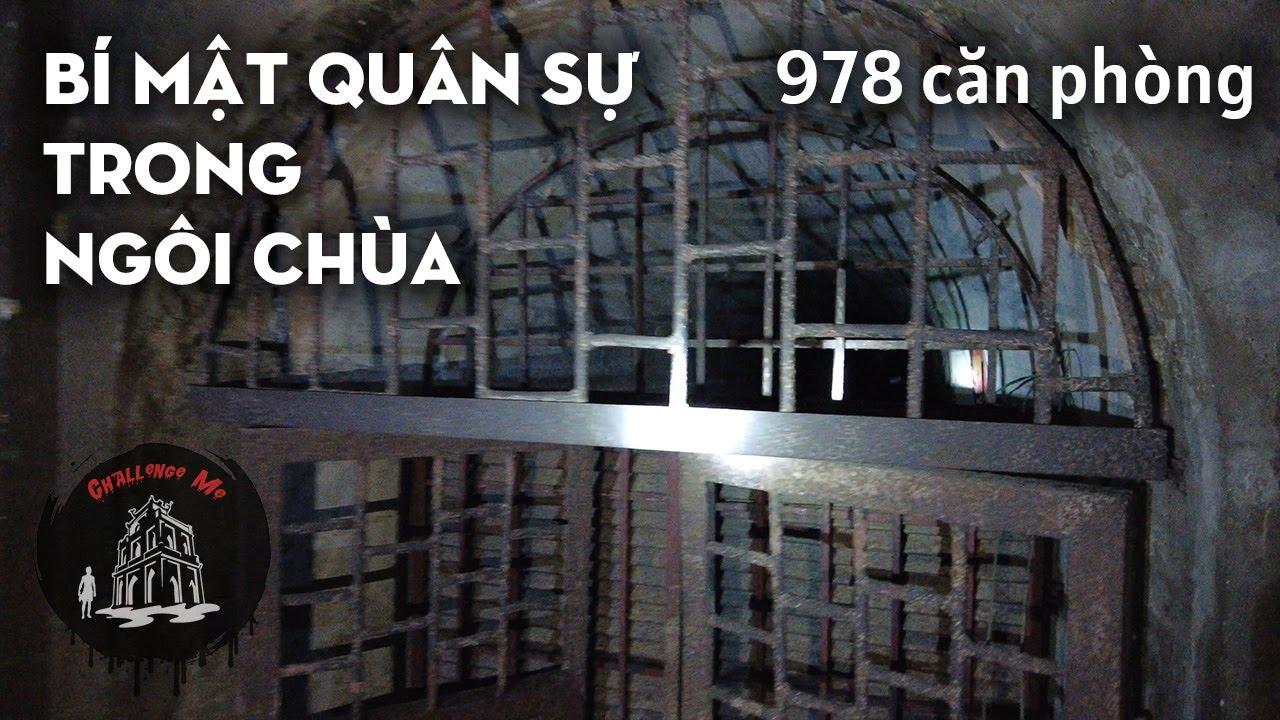 Hầm chống bom hạt nhân trong ngôi chùa ở Chương Mỹ - Hà Nội