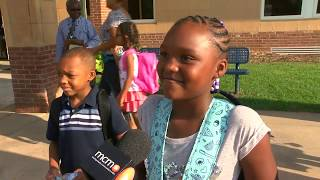 First Day of School in Montgomery County