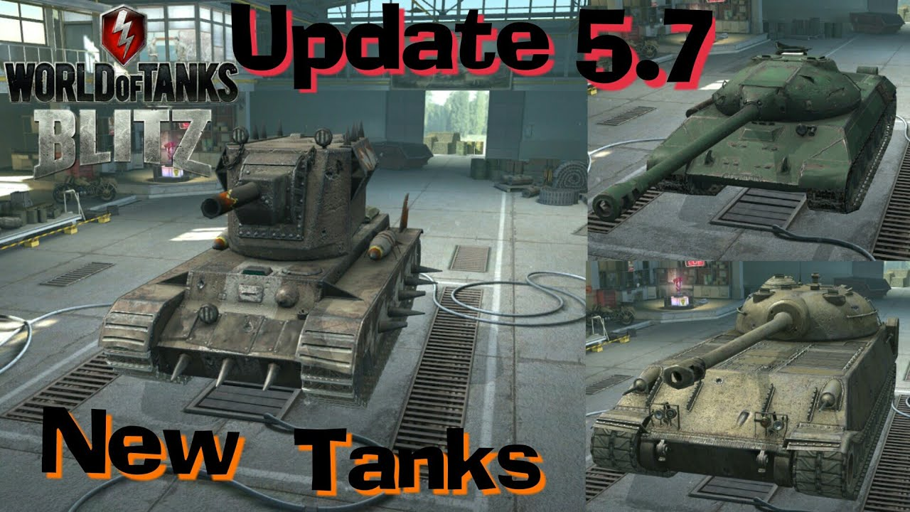 WOT Blitz New Tanks In 5 7, 5 8 Smasher, Mad Games, Event?
