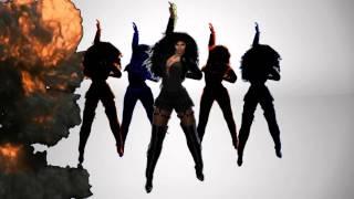 Second Life Tribute To Janet Burn It Up Remix Starring EvA DiVa