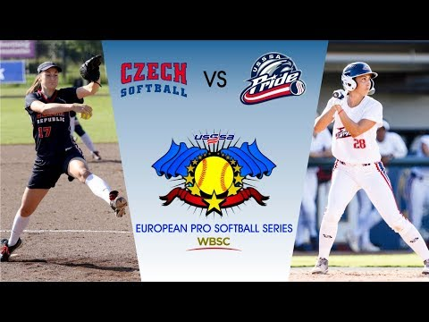 USSSA Pride vs CZE - European Pro Softball Series - Game 4