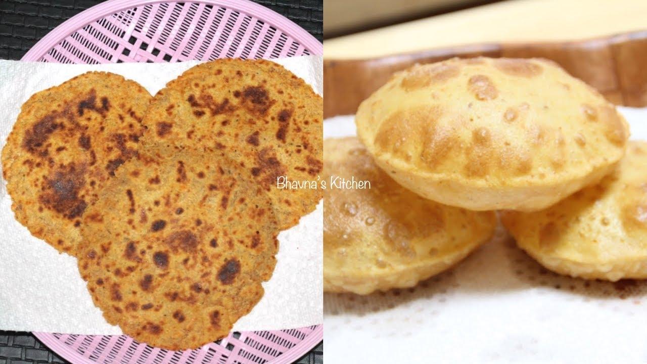 Superfood Blend Masala Bhakri & Puri Video Recipe | Bhavna's Kitchen