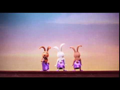 bunny shakes their bottom